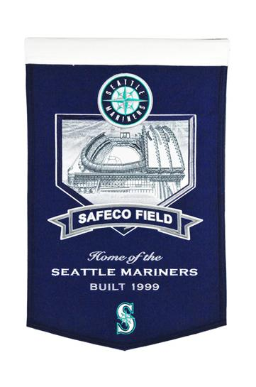 Seattle Mariners Safeco Field Stadium Banner - Dynasty Sports & Framing