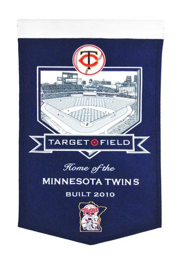 Minnesota Twins Target Field Stadium Banner - Dynasty Sports & Framing