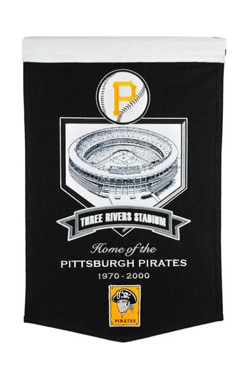 Pittsburgh Pirates Three Rivers Stadium Banner - Dynasty Sports & Framing
