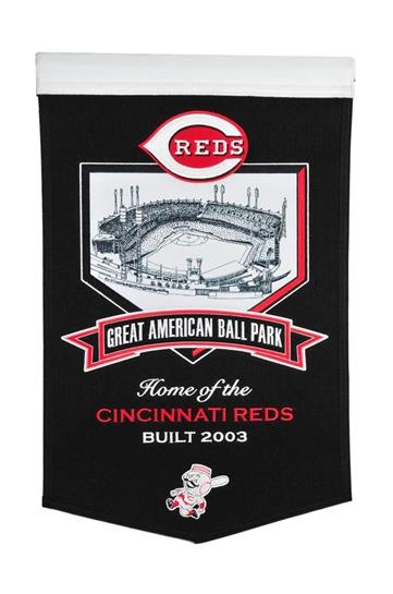 Cincinnati Reds Great American Ballpark Stadium Banner