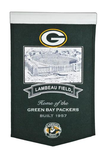 Green Bay Packers Lambeau Field Stadium Banner - Dynasty Sports & Framing