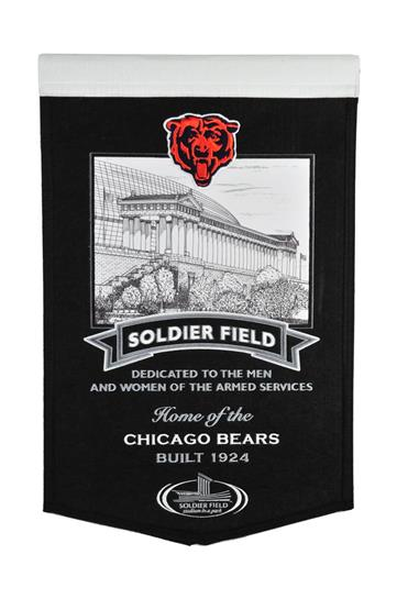 Chicago Bears Soldier Field Stadium Banner - Dynasty Sports & Framing