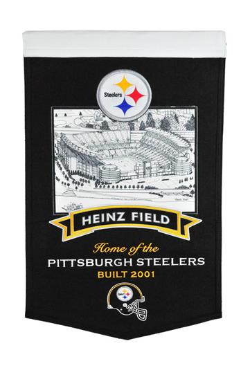 Pittsburgh Steelers Heinz Field Stadium Banner