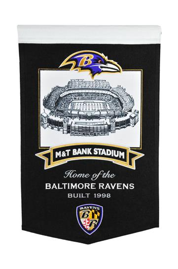 Baltimore Ravens M&T Bank Stadium Banner