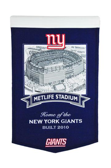 New York Giants Metlife Stadium Banner