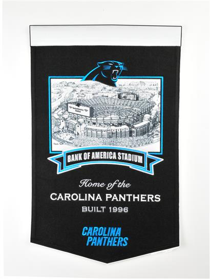 Carolina Panthers Bank of America Stadium Banner - Dynasty Sports & Framing