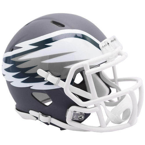 Philadelphia Eagles Amp Alternative Riddell Speed Mini Helmet - Dynasty Sports & Framing