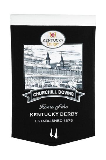 Kentucky Derby Churchill Downs Stadium Banner - Dynasty Sports & Framing