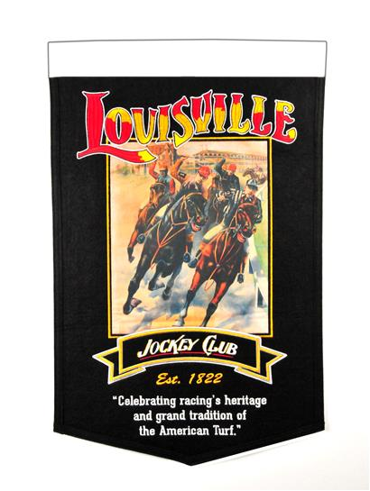 Louisville Jockey Club Stadium Banner - Dynasty Sports & Framing