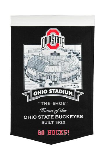 Ohio State Buckeyes Ohio State Stadium Banner - Dynasty Sports & Framing