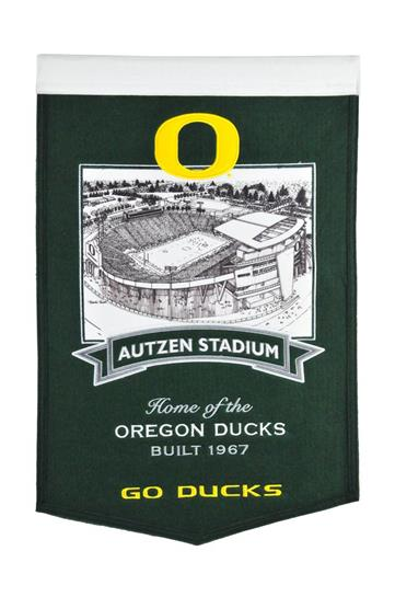 Oregon Ducks Oregon Autzen Stadium Banner