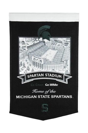 Michigan State Spartans Michigan State Stadium Banner - Dynasty Sports & Framing