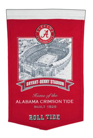 Alabama Crimson Tide Bryant-Denny Stadium Banner - Dynasty Sports & Framing