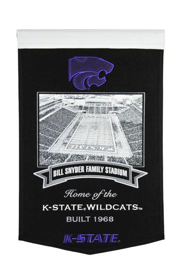 Kansas State Wildcats Bill Snyder Family Stadium Banner - Dynasty Sports & Framing