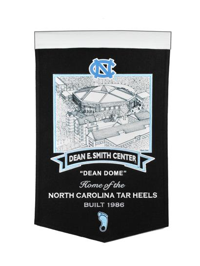 North Carolina Tar Heels Dean Smith Center Stadium Banner - Dynasty Sports & Framing