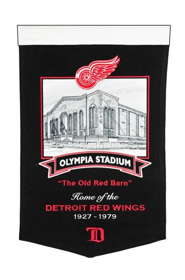 Detroit Red Wings Olympia Stadium Banner