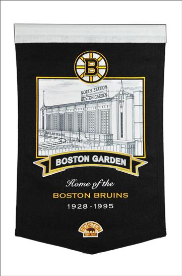Boston Bruins Boston Garden Arena Stadium Banner