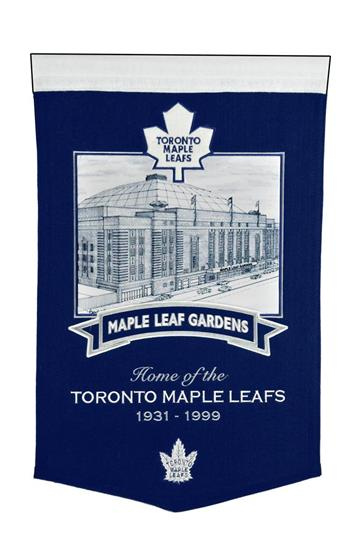 Toronto Maple Leafs Maple Leaf Gardens Stadium Banner - Dynasty Sports & Framing