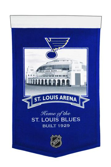 St. Louis Blues St. Louis Arena Stadium Banner - Dynasty Sports & Framing