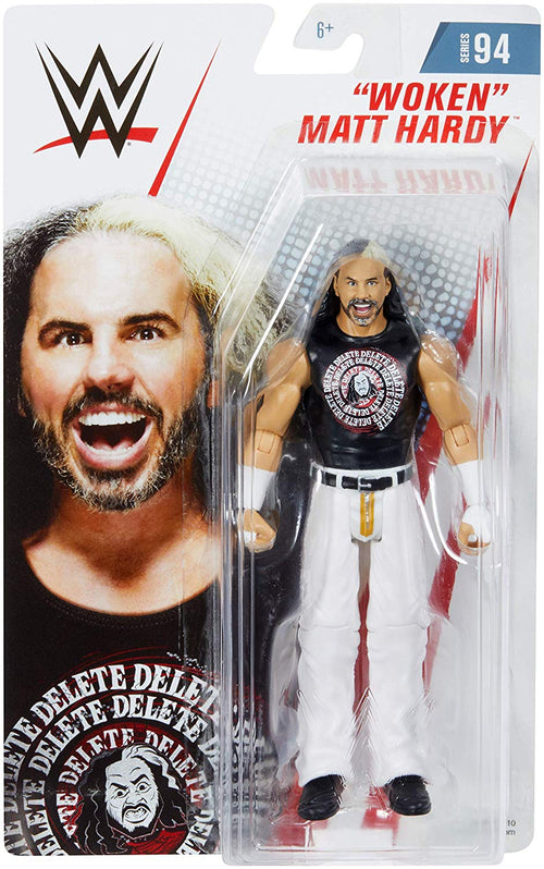 Matt Hardy Woken WWE Wrestling Mattel Series 94 Action Figure - Dynasty Sports & Framing
