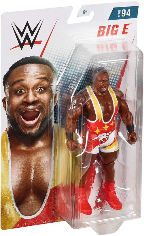 Big E The New Day WWE Wrestling Mattel Series 94 Action Figure - Dynasty Sports & Framing