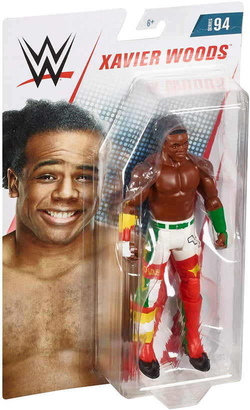 Xavier Woods The New Day WWE Wrestling Mattel Series 94 Action Figure - Dynasty Sports & Framing