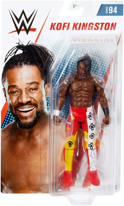Kofi Kingston The New Day WWE Wrestling Mattel Series 94 Action Figure - Dynasty Sports & Framing
