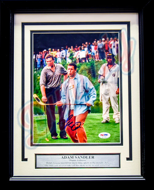 "Adam Sandler Autographed Happy Gilmore 8"" x 10"" Framed Photo"