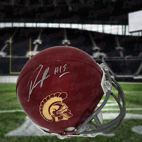 Nelson Agholor Autographed USC Trojans College Mini-Helmet - Dynasty Sports & Framing