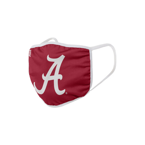 Alabama Crimson Tide Solid Big Logo Face Cover Mask - Dynasty Sports & Framing