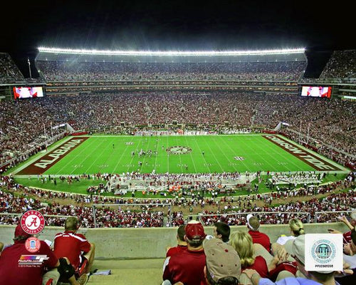 "Alabama Crimson Tide Bryant-Denny Stadium NCAA College Football 8"" x 10"" Photo"