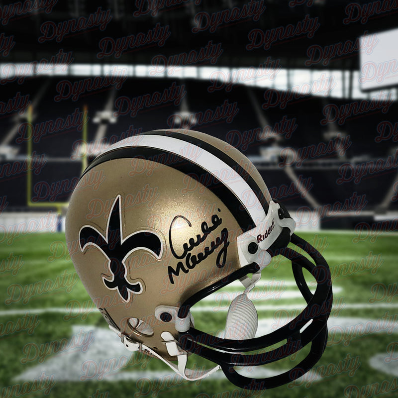 Archie Manning New Orleans Saints Autographed Mini-Helmet - Dynasty Sports & Framing