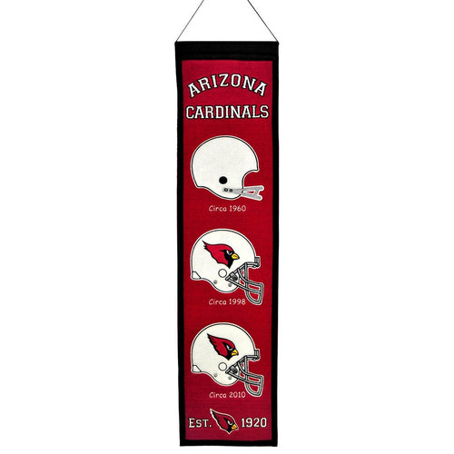 Arizona Cardinals NFL Heritage Banner - Dynasty Sports & Framing