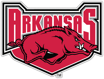 "Arkansas Razorbacks NCAA College 3"" x 4"" Decal - Dynasty Sports & Framing"