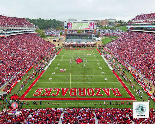 "Arkansas Razorbacks Donald W. Reynolds Razorback Stadium NCAA College Football 8"" x 10"" Photo - Dynasty Sports & Framing"