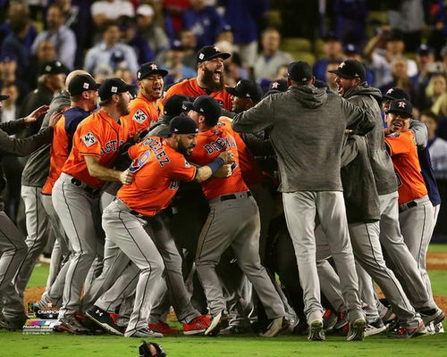 "Houston Astros 2017 World Series Celebration 8"" x 10"" Baseball Photo - Dynasty Sports & Framing"