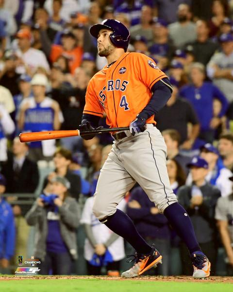 "Houston Astros 2017 World Series MVP George Springer MLB Baseball 8"" x 10"" Photo"