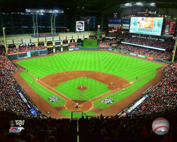 Astros Stadium >> Houston Astros 2017 World Series Game 5 At Minute Maid Park Mlb Baseball 8