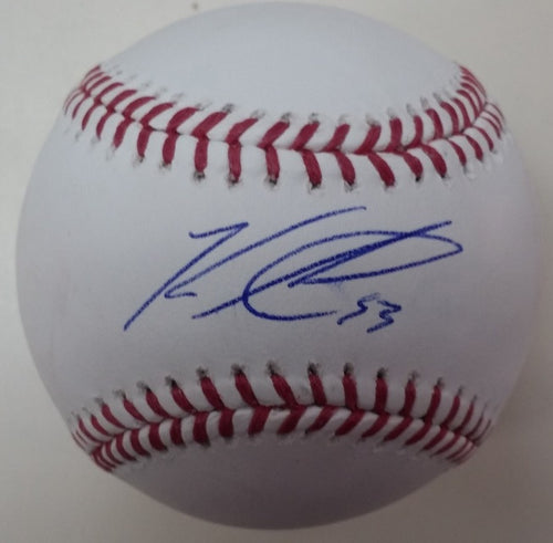 Toronto Blue Jays Ken Giles Autographed Official Major League Baseball - Dynasty Sports & Framing
