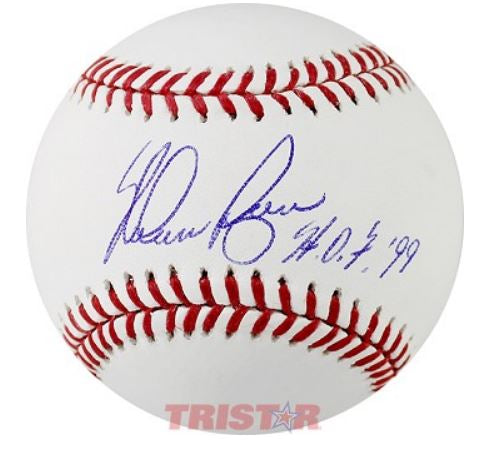 Nolan Ryan Autographed Rawlings Official MLB Baseball with Hall of Fame Inscription