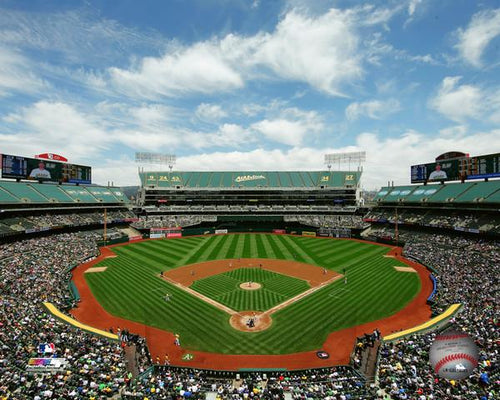 "Oakland Athletics Oakland Alameda Coliseum MLB Baseball 8"" x 10"" Stadium Photo - Dynasty Sports & Framing"