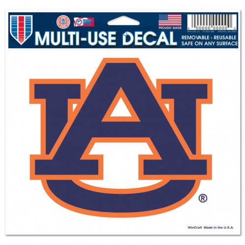 "Auburn Tigers NCAA College 3"" x 4"" Decal - Dynasty Sports & Framing"