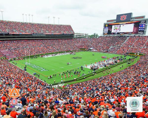 "Auburn Tigers Jordan-Hare Stadium NCAA College Football 8"" x 10"" Photo - Dynasty Sports & Framing"