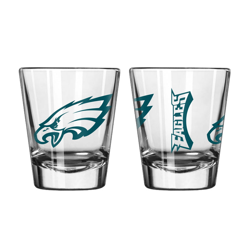 Philadelphia Eagles Spirit NFL Football Shot Glass - Dynasty Sports & Framing