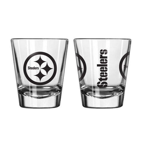 Pittsburgh Steelers Game Day Logo Shot Glass
