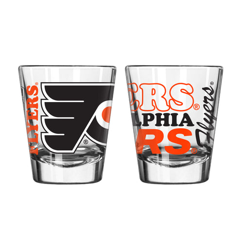 Philadelphia Flyers NHL Hockey Logo Shot Spirit Glass