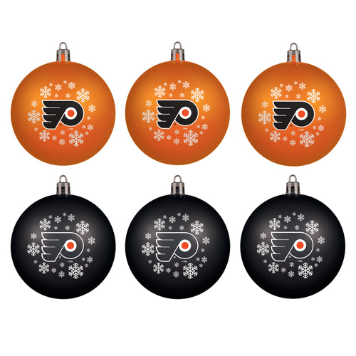 Philadelphia Flyers Holiday 6 Piece Ornament Set - Dynasty Sports & Framing