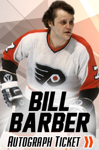 Bill Barber Philadelphia Flyers Experience Tickets