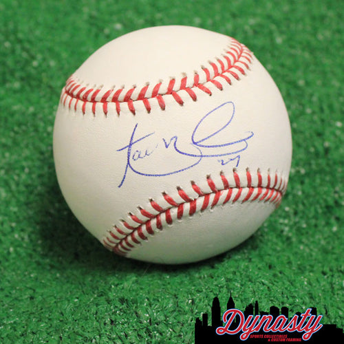 Aaron Nola Autographed Philadelphia Phillies Official Major League Baseball - Dynasty Sports & Framing