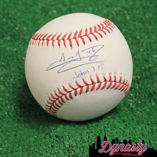 Jeanmar Gomez Philadelphia Phillies Autographed Major League Baseball - Dynasty Sports & Framing